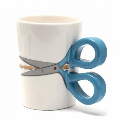 Sew Thirsty Mug in Blue - William Gee UK copy
