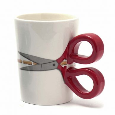 Sew Thirsty Mug in Red - William Gee UK copy