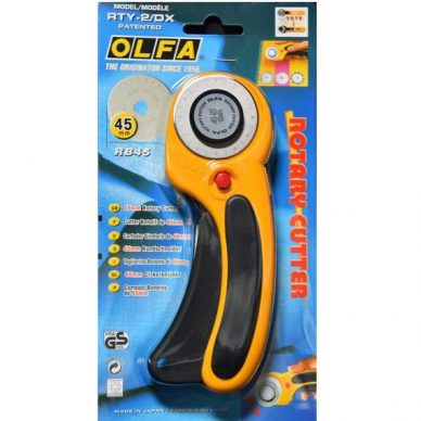 OLFA 45mm Deluxe Rotary Cutter - William Gee UK