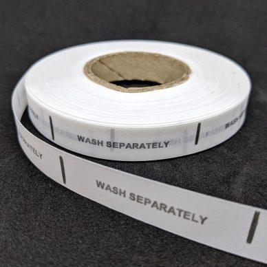 Wash Separately Care Label - William Gee UK