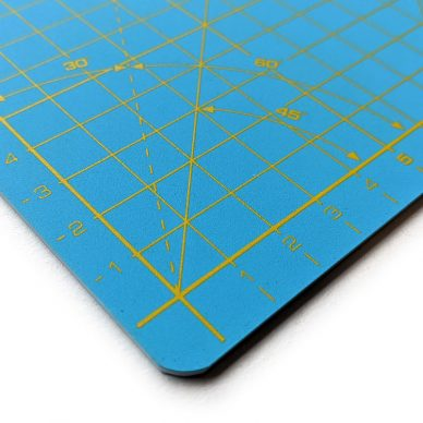 Olfa Cutting Mat A3 Aqua Blue Closeup - William Gee UK