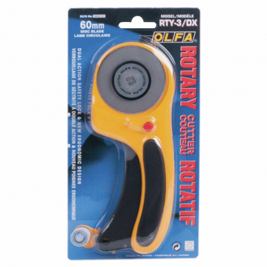 Olfa Rotary Cutter Deluxe 60mm - William Gee Online