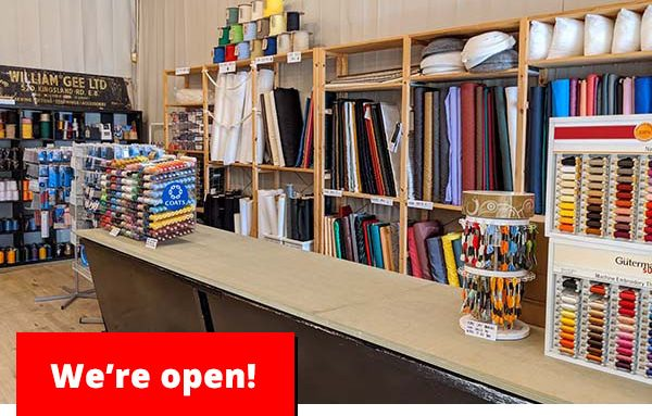 Our shop has reopened - William Gee UK