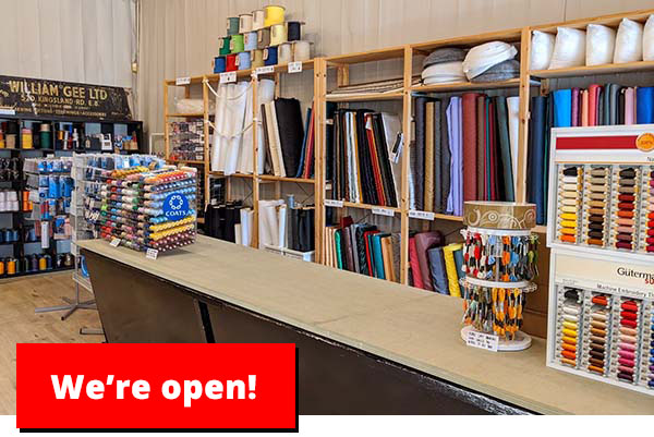 Our shop is closed…for now!