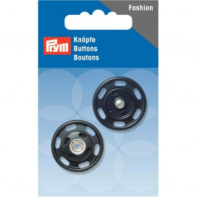 Prym Buttons Snap Fasteners Navy 341836- William Gee UK