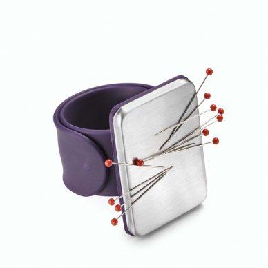 Prym Magnetic Arm Pin Cushion Violet 610282 - William Gee UK