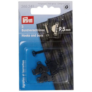 Prym Trouser Skirt Hook and Bars 265241 - William Gee UK