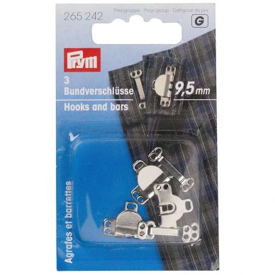 Prym Trouser and Skirt Hook and Bars 265242 - William Gee UK