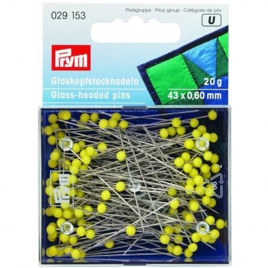 Prym Glass Headed Pins 029153 - William Gee UK