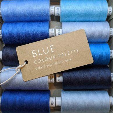 Blue Colour Palette Moon 120 Box - William Gee