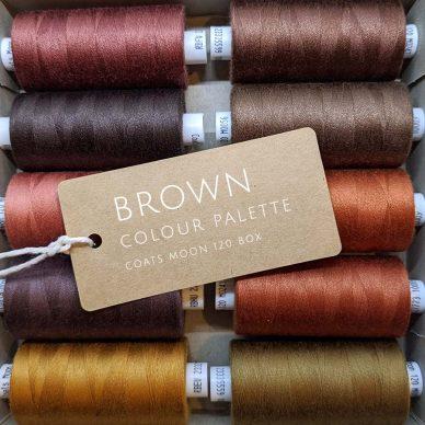 Brown Colour Palette Moon 120 Box - William Gee