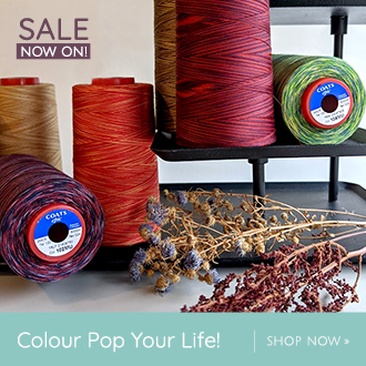 Colour Pop your Life with William Gee's Multicolour Threads