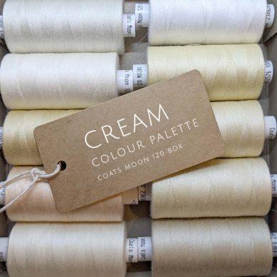 Cream Colour Palette Moon 120 Box - William Gee UK