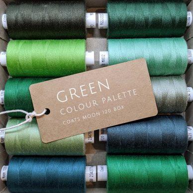 Green Colour Palette Moon 120 Box - William Gee