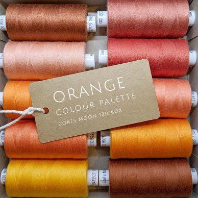 Orange Colour Palette Moon 120 Box - William Gee