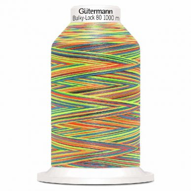 Gutermann Bulky Lock 80 Multi Colour 9822 - William Gee UK