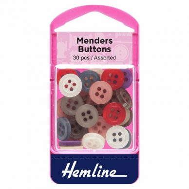Hemline Mender Buttons 30 pieces - William Gee UK