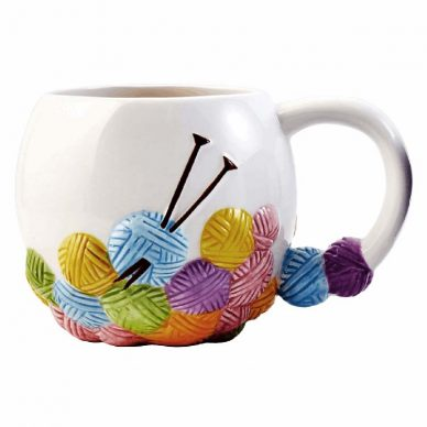 Knitting Design Mug William Gee UK