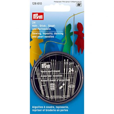 Prym Sewing Needles Assorted 24 Pack - 128610 - William Gee Online