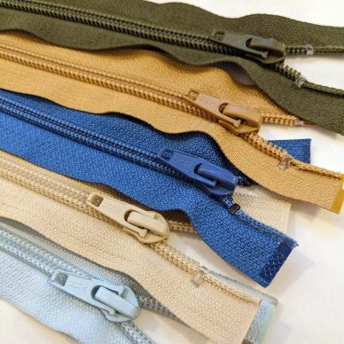 CNFO Nylon Overstock Zips - William Gee