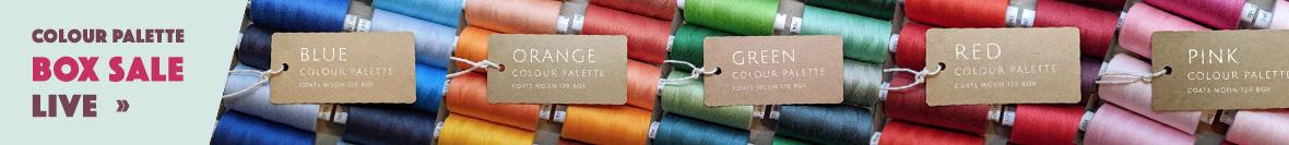 Coats Moon Colour Palette Box Sale at William Gee UK