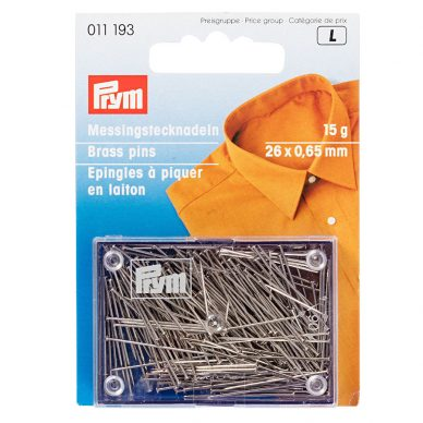 Prym Brass Pins 011193 - William Gee UK