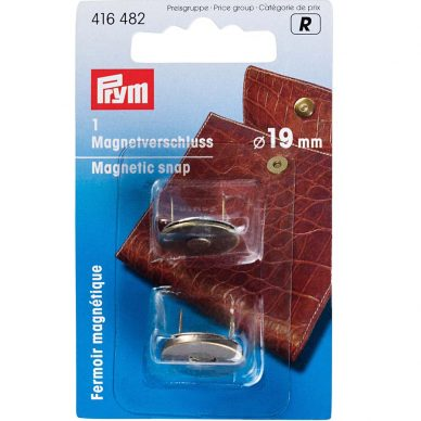 Prym Magnetic Snaps Antique Brass 416482 - William Gee UK