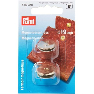 Prym Magnetic Snaps Gold 416481 - William Gee UK