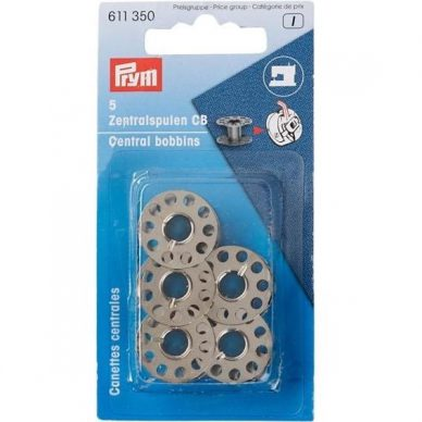Prym Metal Bobbins 611350 - William Gee UK