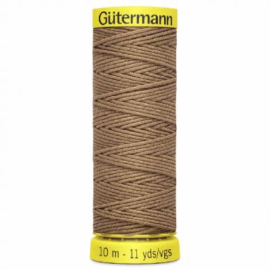 Gutermann Shirring Elastic Beige 10m - William Gee UK