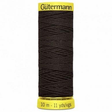 Gutermann Shirring Elastic Brown 10m - William Gee UK