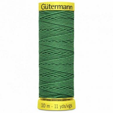 Gutermann Shirring Elastic Green 10m - William Gee UK