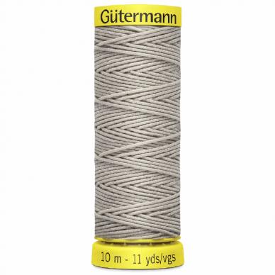 Gutermann Shirring Elastic Light Grey 10m - William Gee UK