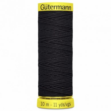 Gutermann Shirring Elastic Navy 10m - William Gee UK