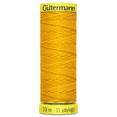 Gutermann Shirring Elastic Yellow 10m - William Gee UK