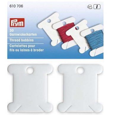 Prym Thread Bobbins Plastic 610706 - William Gee UK