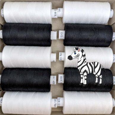 Coats Moon Zebra Threads - William Gee UK