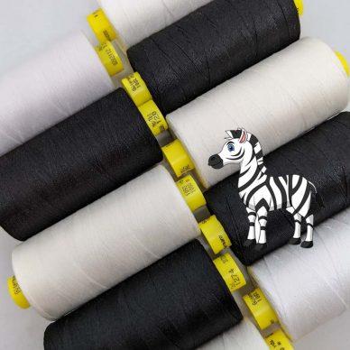 Gutermann Mara Zebra Threads - William Gee UK