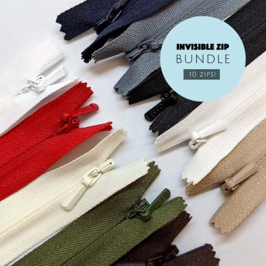 Invisible Zip Bundle - William Gee UK