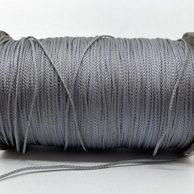 Rayon Cord 1mm Grey - William Gee UK