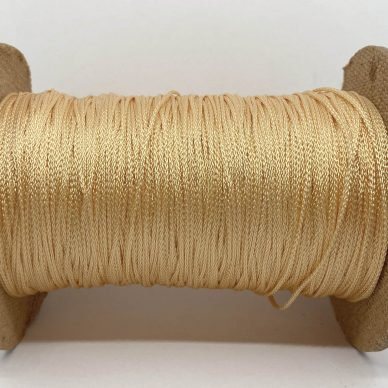 Rayon Cord 1mm Pale Peach - William Gee UK