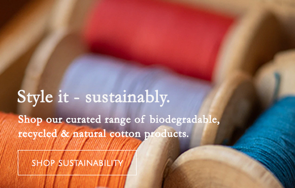 Eco Friendly and sustainable sewing supplies at William Gee UK