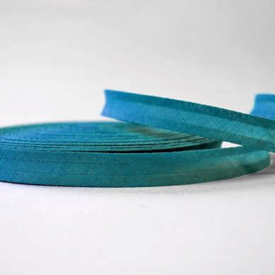 Bias-Binding-Cotton-Kingfisher Blue- William Gee UK
