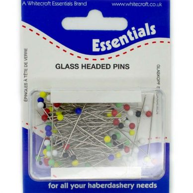 Glass Headed Pins 66331 - William Gee UK
