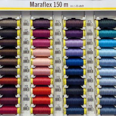 Gutermann Maraflex Sewing Threads 150m - William Gee UK