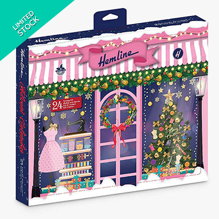 Buy Sewing Advent Calendars by Hemline at William Gee UK